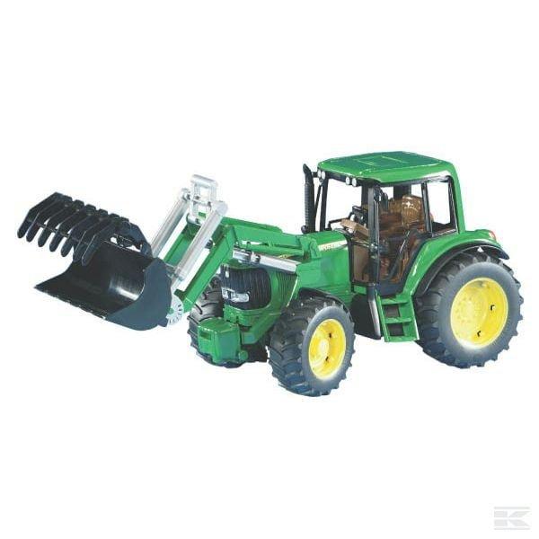 Bruder John Deere 6920 tractor  with loader U02052 2