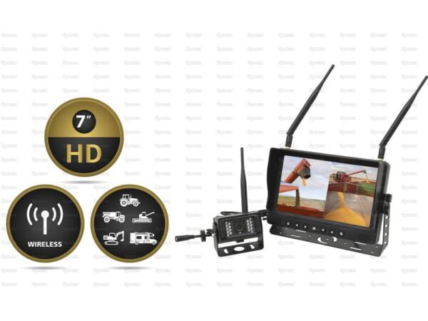 Wireless Reversing Camera System with 7 LCD Monitor & 1 Camera SP143669 1