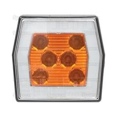 LED Front Marker Light, 12/36V (RH/LH) 2