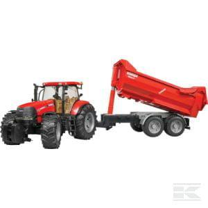 BRUDER Case IH CVX230 + trailer U03099 1