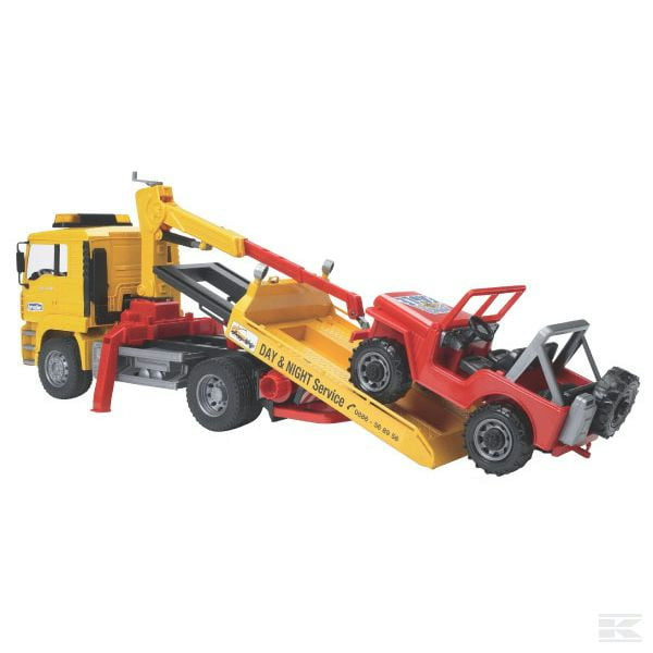 Childrens Toy Bruder MAN breakdown truck 2