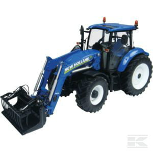 UNIVERSAL HOBBIES UH4274 New Holland T5.115 w frnt loader 2