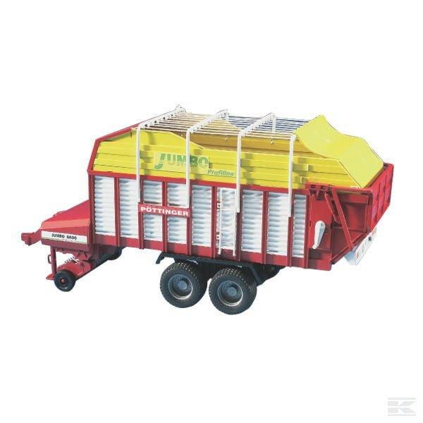 Bruder Pöttinger Jumbo 6600 trailer U02214 2