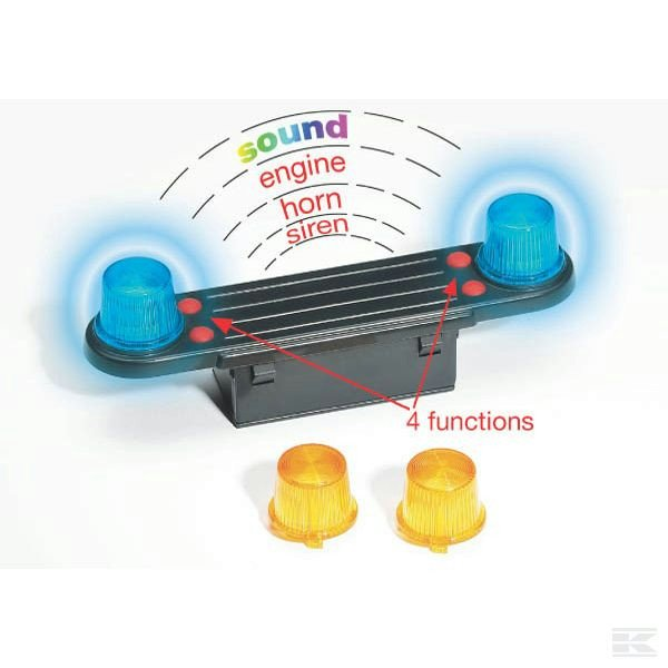 Childrens Toy Bruder Light and sound module 2