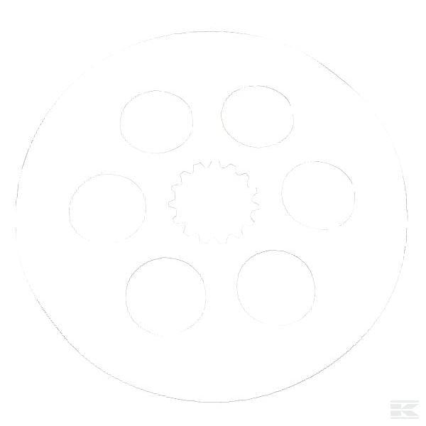 Brake disc - McCormick tractor brakes CX 2