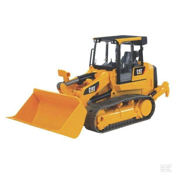 Childrens Kids Toy Bruder CAT bulldozer 2