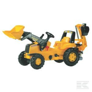 ROLLY CAT Trac with front loader and backhoe R81300 2