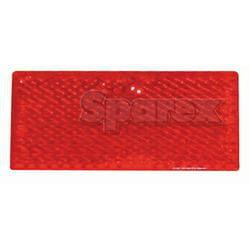 REFLECTOR-100X45MM RED Trailer Reflector 2