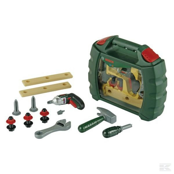 Childrens Kids Toy Ixolino tool box 2