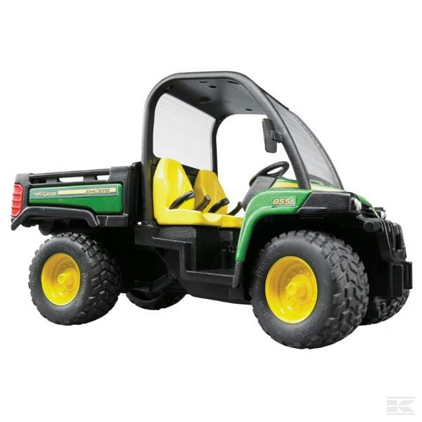 Childrens Kids Toy Bruder John Deere Gator 855D 2