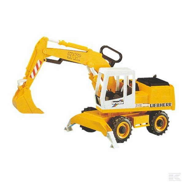 Childrens Toy Bruder Excavator 2