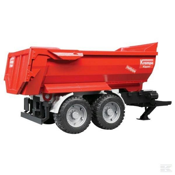 Bruder Krampe tan. halfp. tip. trailer U02225 2