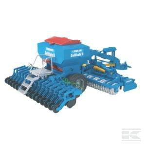Bruder Lemken Solitair 9 Combination Drill U02026 2