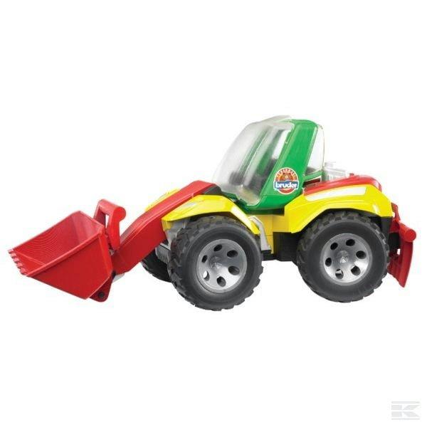 Childrens Kids Toy Bruder Roadmax loader 2