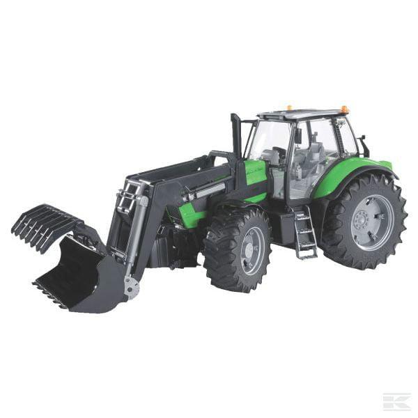 BRUDER DEUTZ-FAHR Agrotron X720 +loader U03081 2