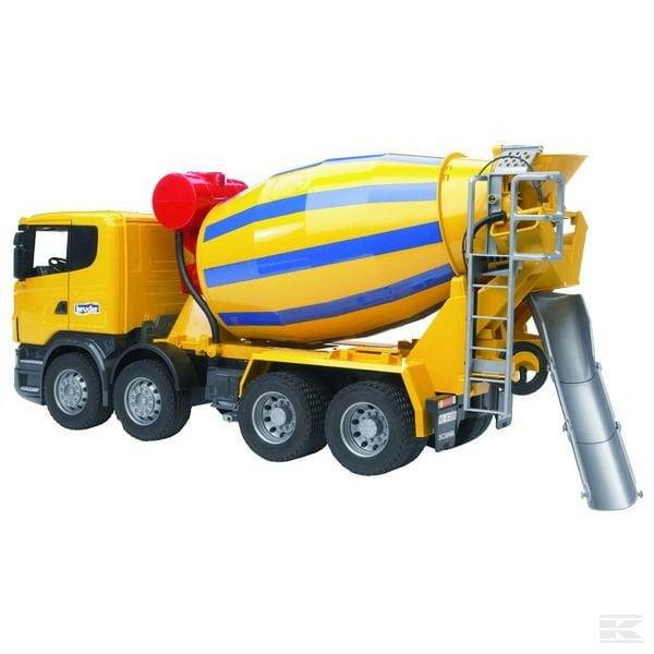 Childrens Toy Bruder Scania Concrete Mixer 2