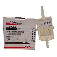 Filter Fuel In-Line genuine 87329736 2