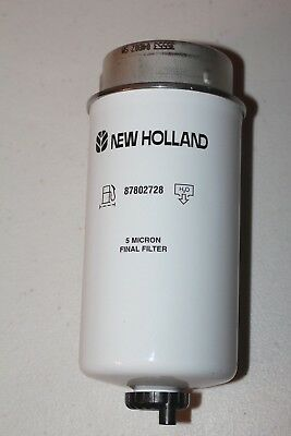 New Holland Fuel Filter single type genuine TM Newholland 2