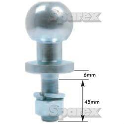 Ball Hitch Pin (Short ATV) SP14805 2