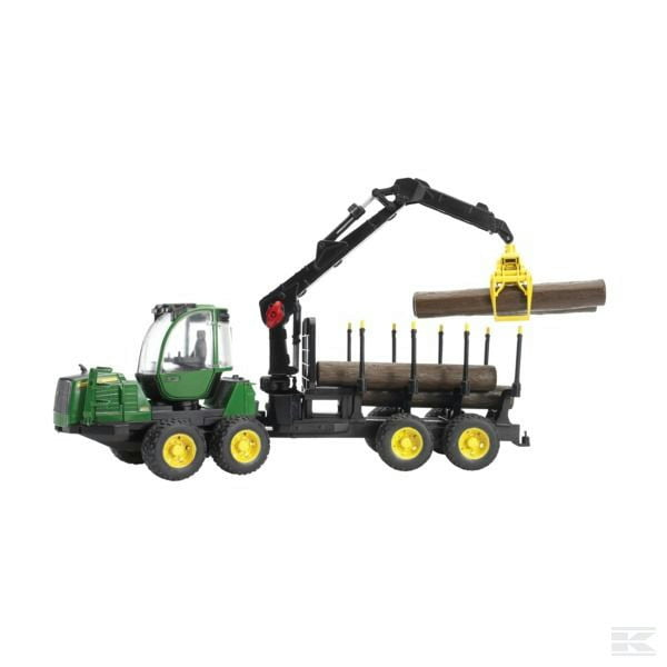 Bruder John Deere forwarder forestry machine U02133 2