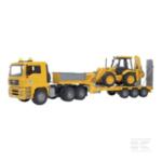 MAN TGA low loader with 4CX JCB U02776 3