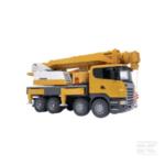 Childrens Toy Bruder Scania R with Liebherr crane and sound 4