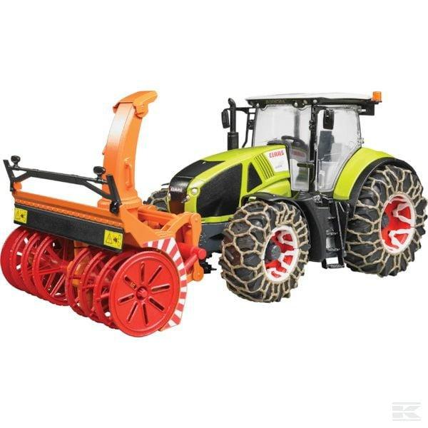 BRUDER Claas Axion 950 snow blower U03017 2
