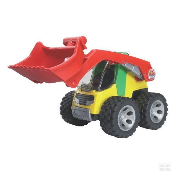 Childrens Kids Toy Bruder Roadmax Skid Steer Loader 2