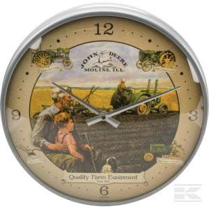 Clock JD with grandpa chrome TTF8140 2