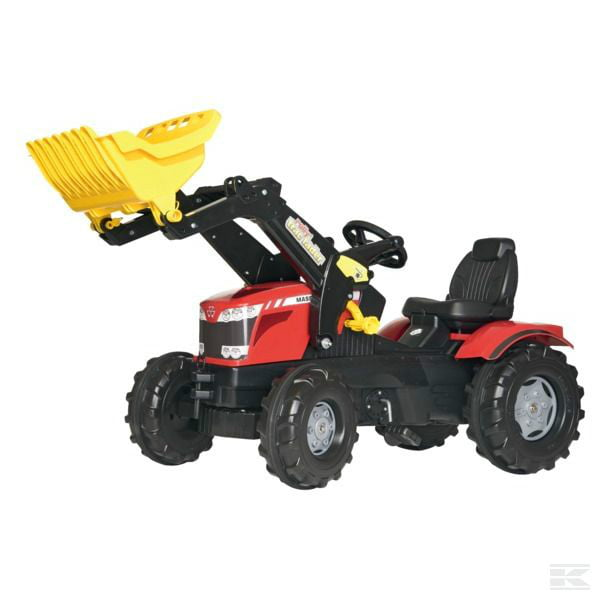 ROLLY MF 8650 with front loader R61113 2
