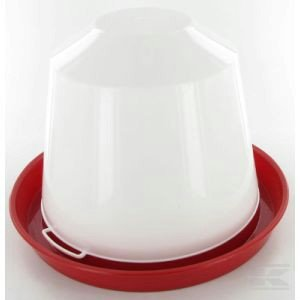 Chicken drink tray PVC 3ltr, Poultry drinker 2