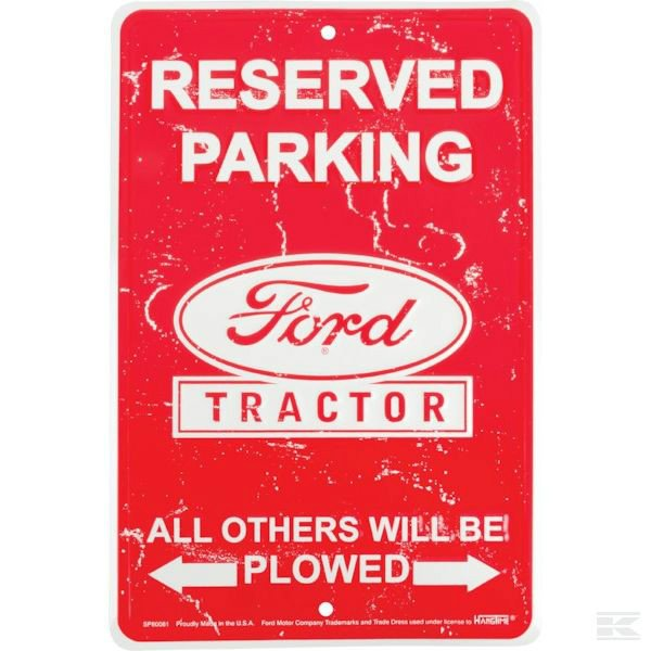 Ford Reserved parking - Parking Signs Ford 2