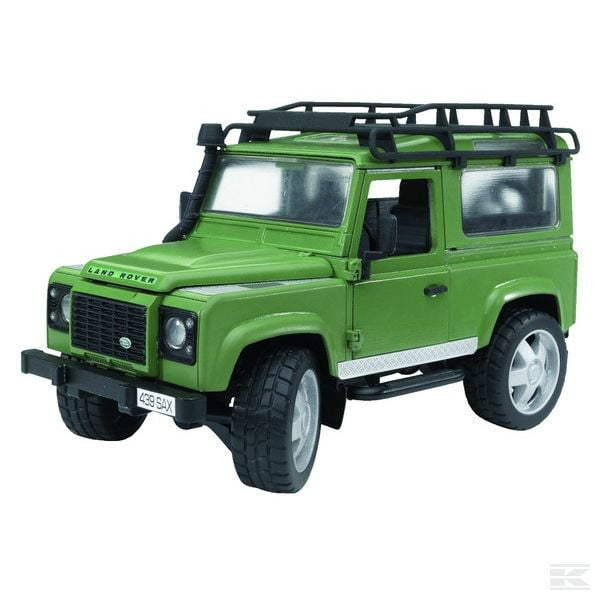 Childrens Toy Bruder Land Rover Defender Station Wagon 1