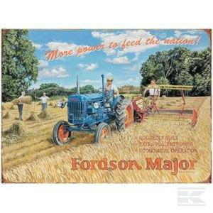 Fordson Major sign TTF4125 2