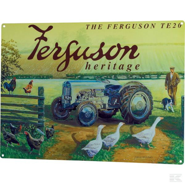 Ferguson heritage TE 20 sign TTF6183 2