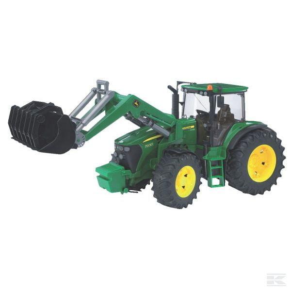 Bruder John Deere 7930 tractor with loader U03051 2