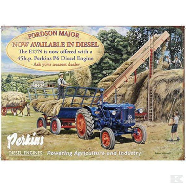 Fordson Major E27N sign Billboards Ford 2