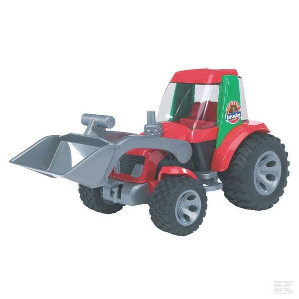 Bruder Tractor with front loader U20102 2