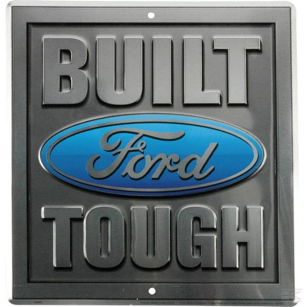 Sign Ford built tough TTF4118 2