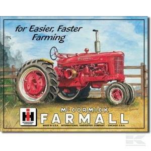Farmall M Tractor Sign TTF2111 2