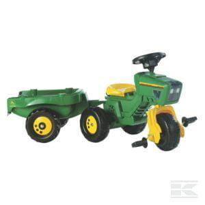 ROLLY J.D 24OO Tractor & trailer c/w sound st whl R05276 2