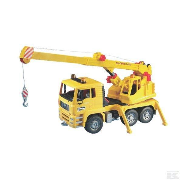 Childrens Toy Bruder Man Crane Truck 2