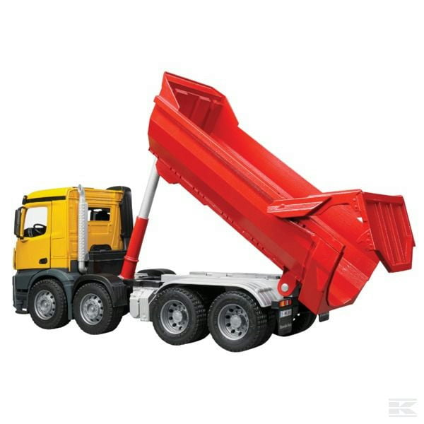Childrens Toy Bruder MB Arocs halfpipe Tipper Truck 2