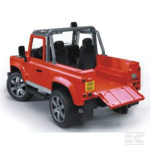 Childrens Toy Bruder Land Rover Defender Pick Up 2