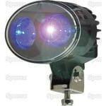 LED Blue Spot Work Light for Spraying, 30 Lumens SP112528 3