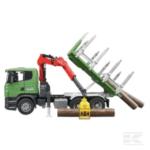 Childrens Toy Bruder Scania R Series Log Transporter 5