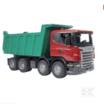 Childrens Toy Bruder Scania Tipping Trailer Truck 3