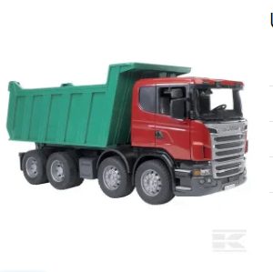 Childrens Toy Bruder Scania Tipping Trailer Truck 2
