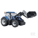 Bruder New Holland T7.315 Tractor with front loader U03121 2