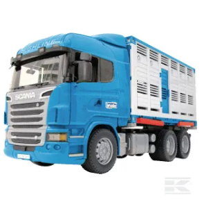 Childrens Scania Livestock Trailer U03549 2